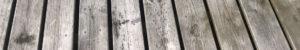 brädor i en brygga